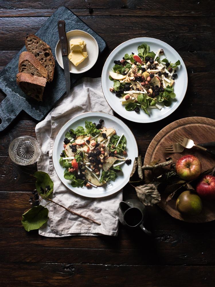 An autumnal salad