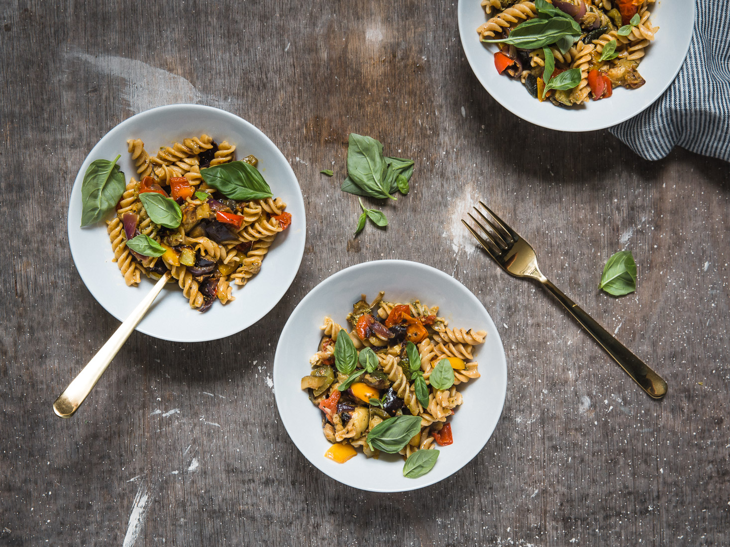 Late Summer Veg Pasta