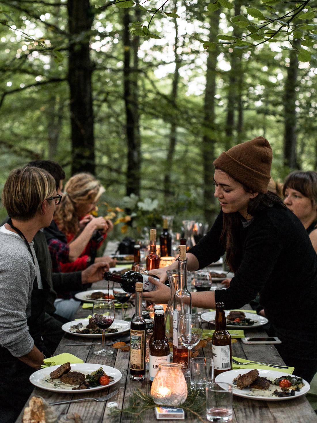 Pure Food Camp, Skåne, Sweden